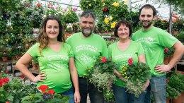 L'équipe de la ferme Bédard-Blouin