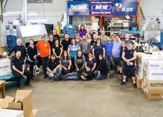 Une entreprise de Limoilou devient le plus gros imprimeur textile dans l'est du Canada