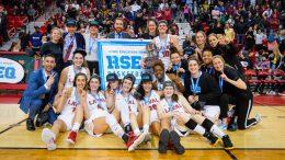 L'équipe féminine basketball du Rouge et Or
