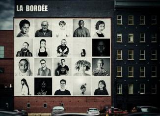 Une murale extérieure pour La Bordée