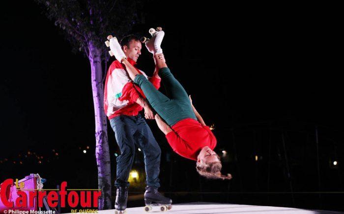 Première représentation pour FLEUVE de Machine de Cirque