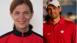 Chantal Jobin et Patrick Paradis du Rouge et Or