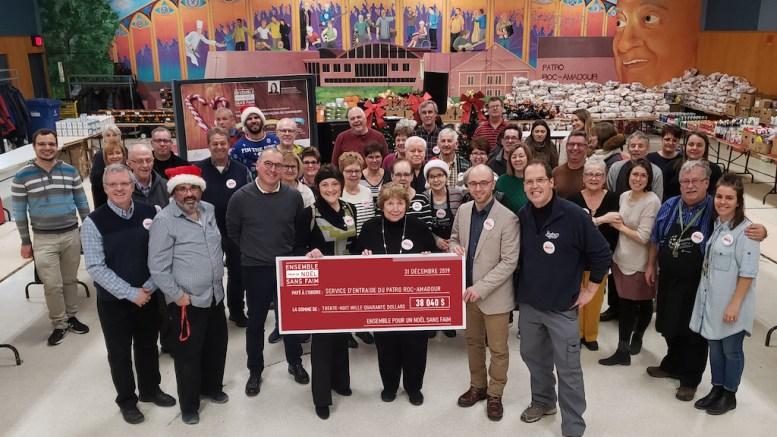 La campagne du Patro Roc-Amadour Ensemble pour un Noël sans faim est lancée