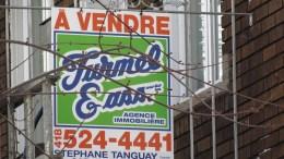 Pancarte immobilière à vendre