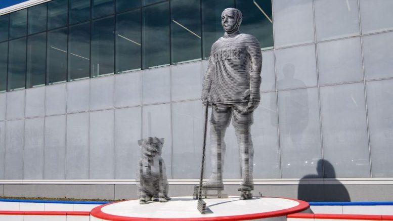 L'oeuvre d'art en hommage à Joe Malone