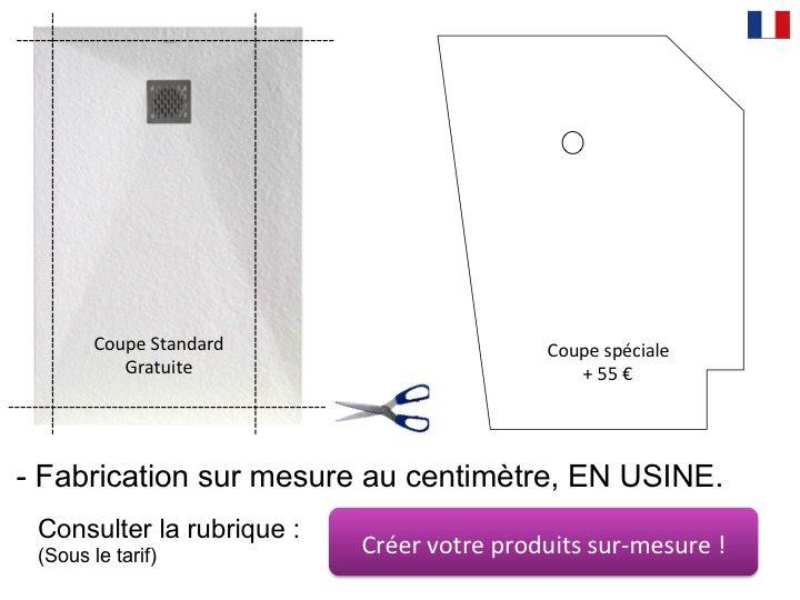 receveur de douche 95x110 cm