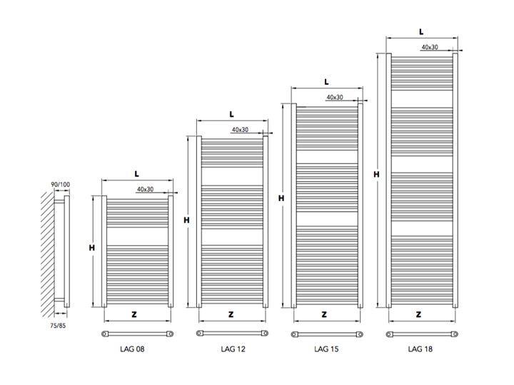 Radiateur Sche Serviettes 200 Watt Sche Serviette De