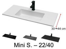 Plan Vasque Vasque Lavabo Suspendu Ou A Encastrer Dans Une Meuble De Salle De Bain 40 X 100 45 X 100 46 X 100 50 X 100 60 X 100 Cm