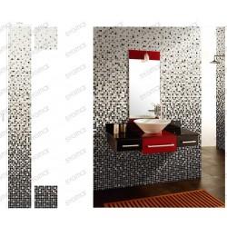 mosaique degrade salle de bain carrelage douche modele nyla carrelage mosaique