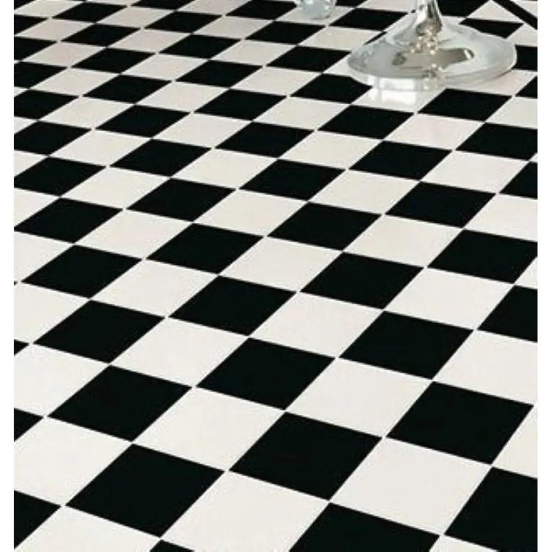 carreaux 20x20 blanc mat pour damier noir et blanc
