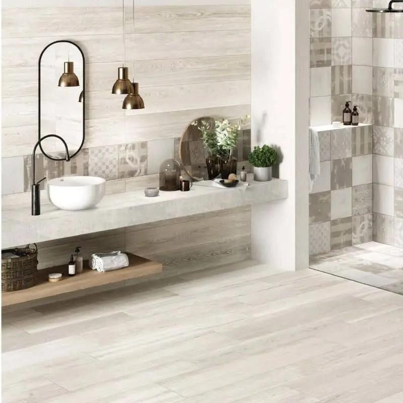 carrelage aspect parquet 20x120 craftswood white