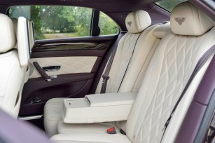 Bentley Flying Spur rear seats