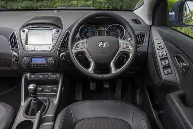 Hyundai ix35 dash