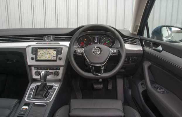 VW Passat cabin
