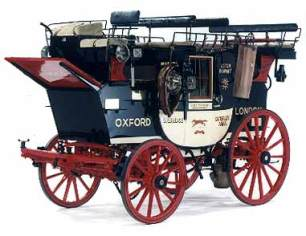 """Road Coach """"Nimrod"""" - Front View"""