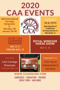 2020 CAA Events