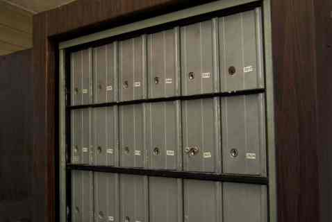 Locked Mailboxes