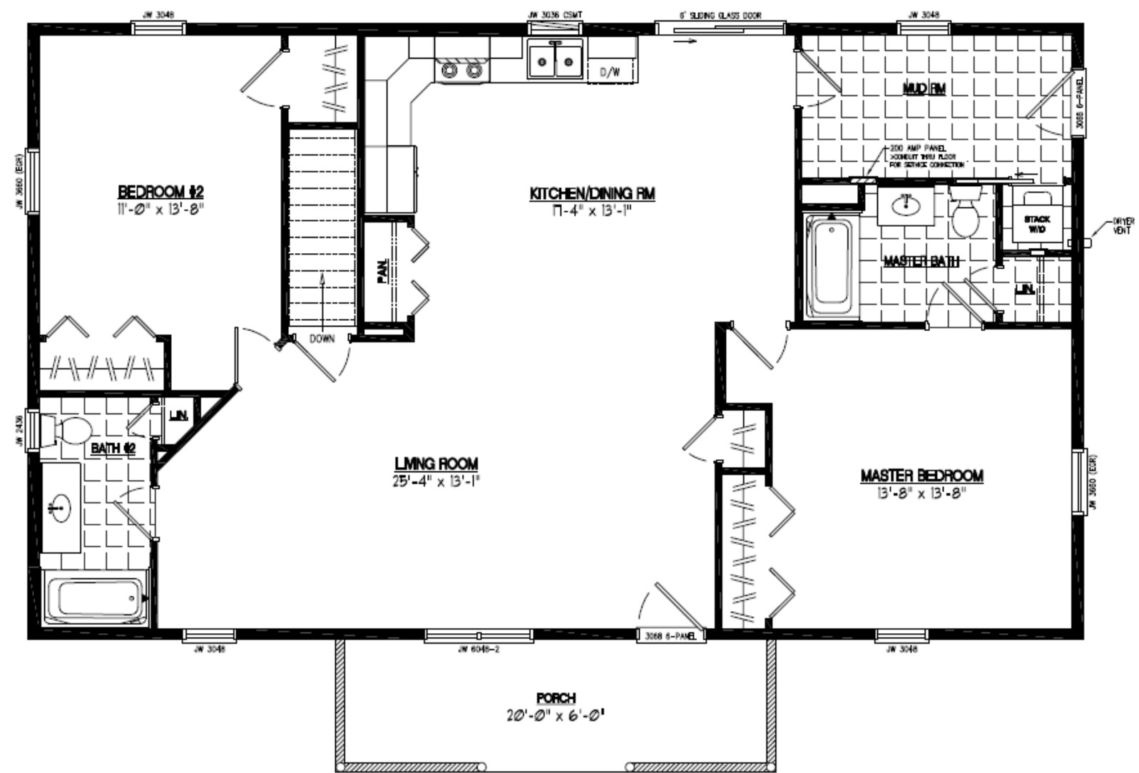 36 X 48 House Plans | Wiring Diagram Database