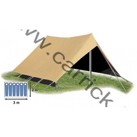 double toit tente patrouille 6 places carrick france
