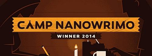 Camp NaNo Winner