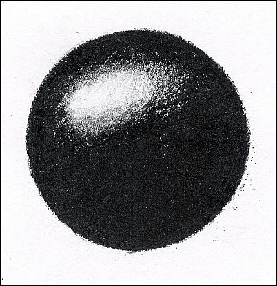 Remove Color - Third step in removing colored from a colored pencil drawing.