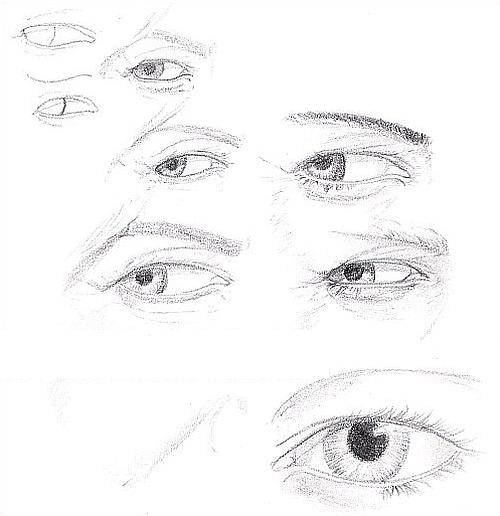 Drawing Studies - Eyes