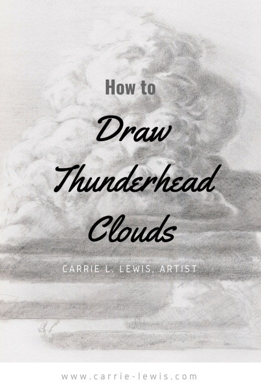 How To Draw Thunderhead Clouds