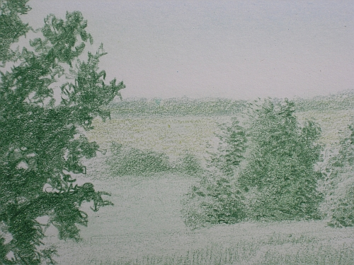 Drawing Distance - Green Landscape with Limepeel Added