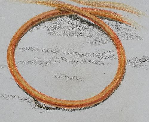 colored pencil plein air drawing week 6