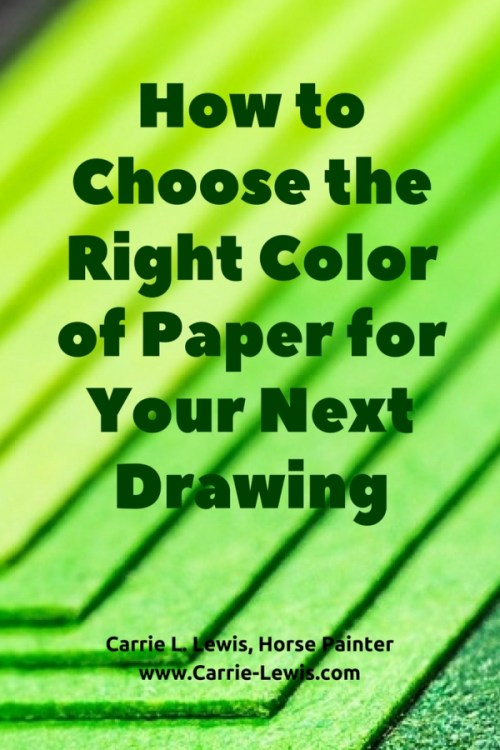 How to Choose the Right Color of Paper for Your Next Drawing