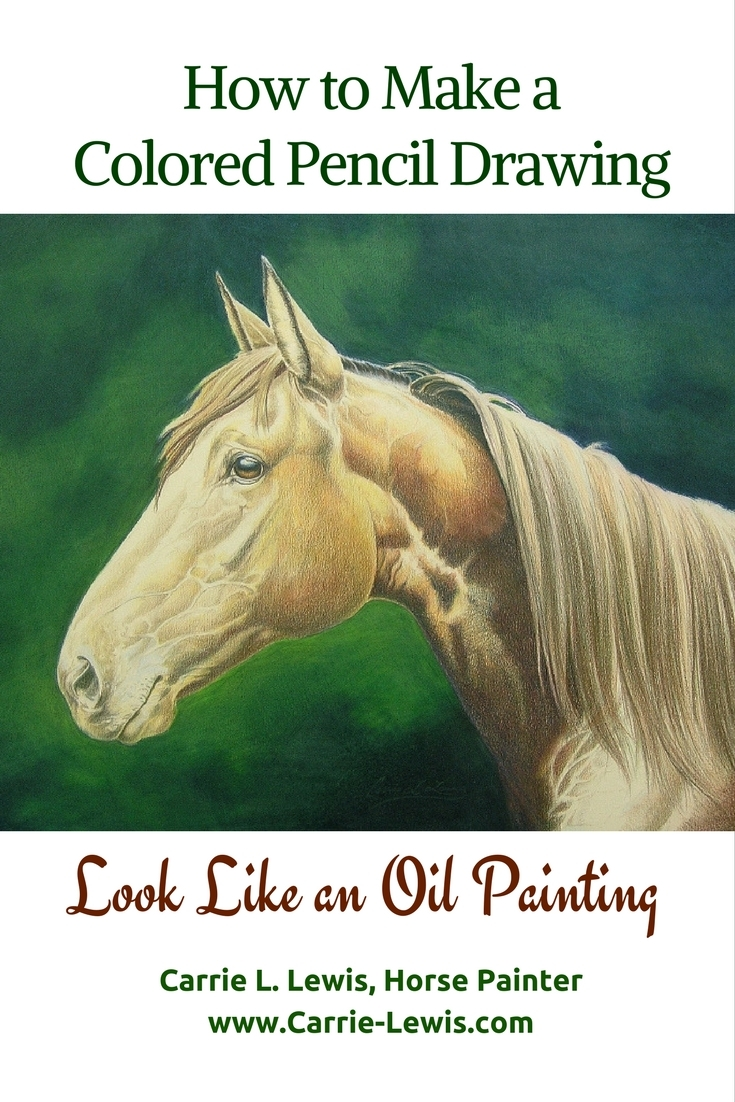 How Can I Make a Colored Pencil Drawing Look Like an Oil Painting ...