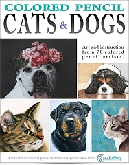 Art Instruction ebooks - Cats & Dogs in Colored Pencil 188