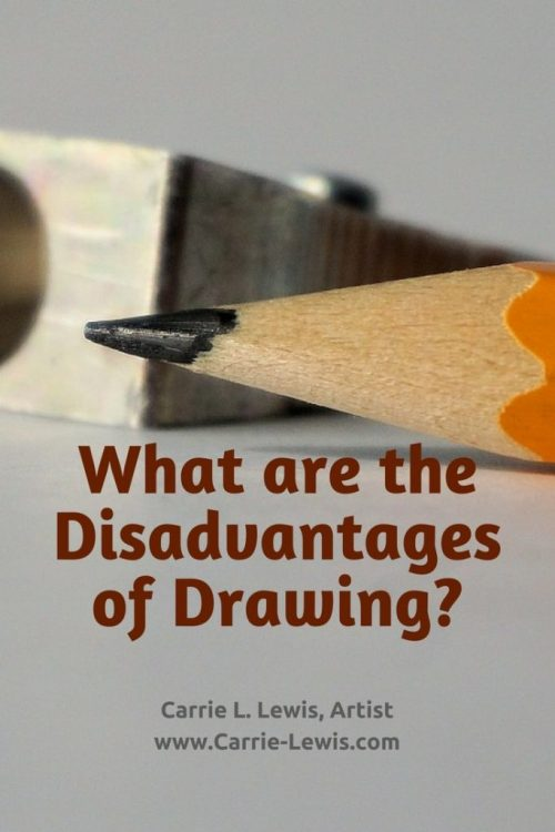 What are the Disadvantages of Drawing?