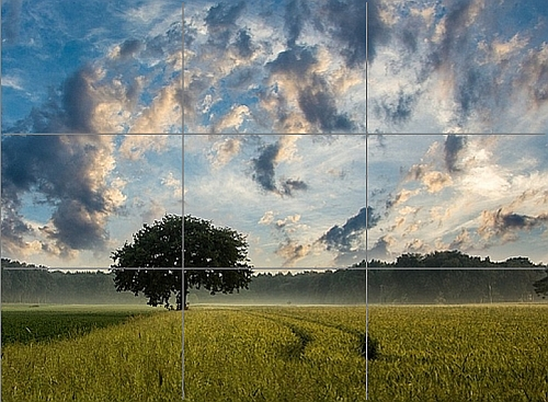 How to Draw Landscapes with Colored Pencil - Rule of Thirds