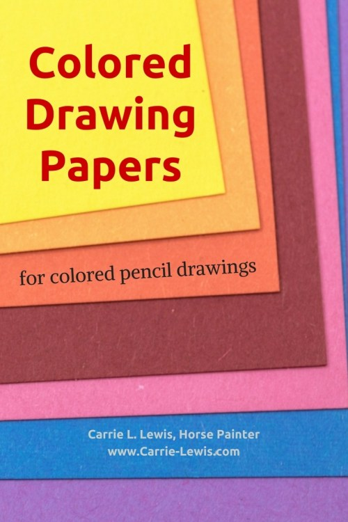 Colored Drawing Papers