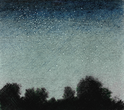 How to Draw a Night Sky - Finishing Touches