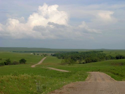 Choosing Colors for Outdoor Drawing - Flint Hills Spring