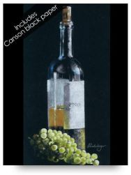 Wine Bottle Colored Pencil Drawing Kits for Beginners
