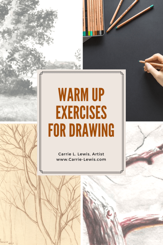 Warm Up Exercises for Drawing