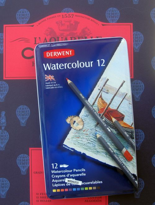 Derwent Watercolor Pencils - Set of 12