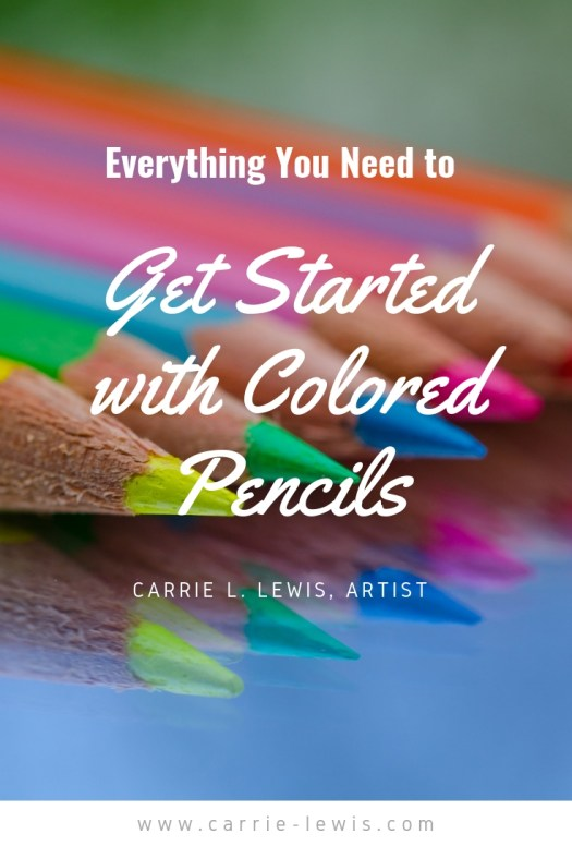 Everything You Need to Get Started with Colored Pencils