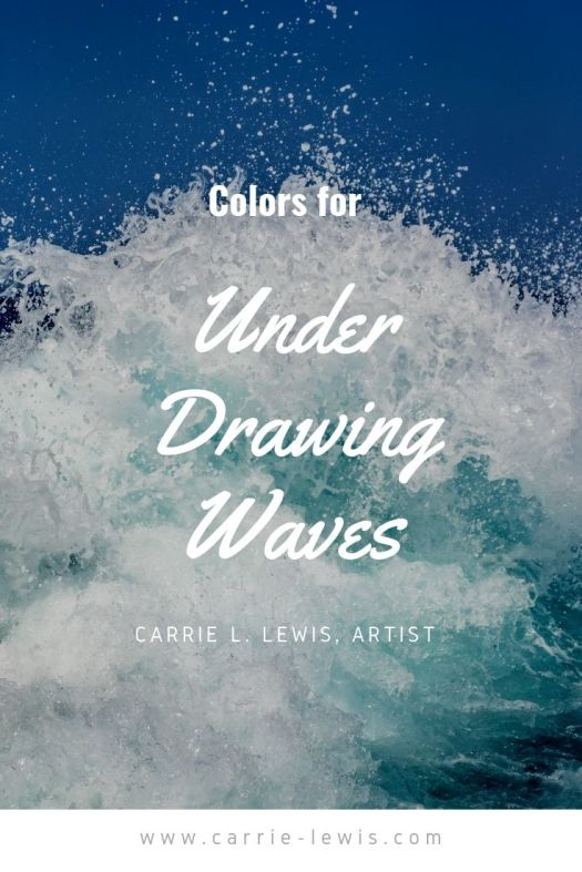 Colors for Under Drawing Waves