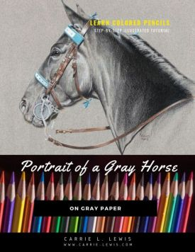 New Tutorial - Portrait of a Gray Horse