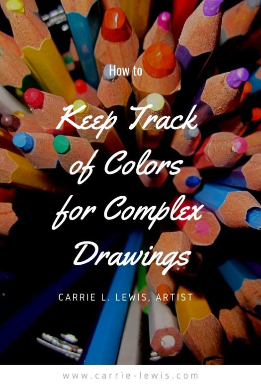 How to Keep Track of Colors for Complex Drawings