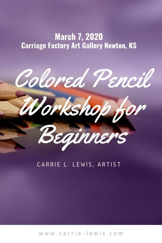 Colored Pencil Workshop for Beginners