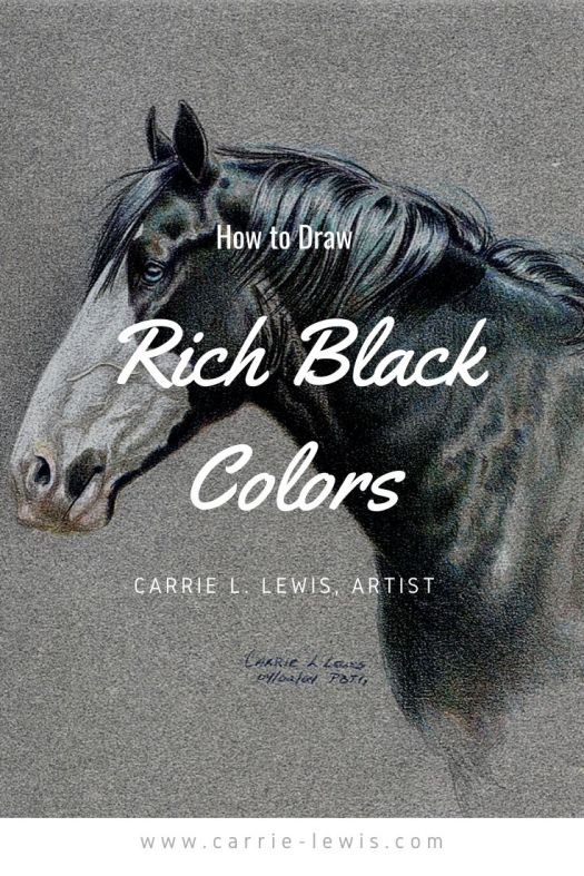 How to Draw Rich Black Colors