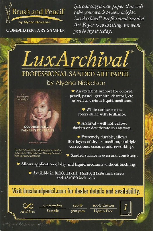 Lux Archival Paper Sample