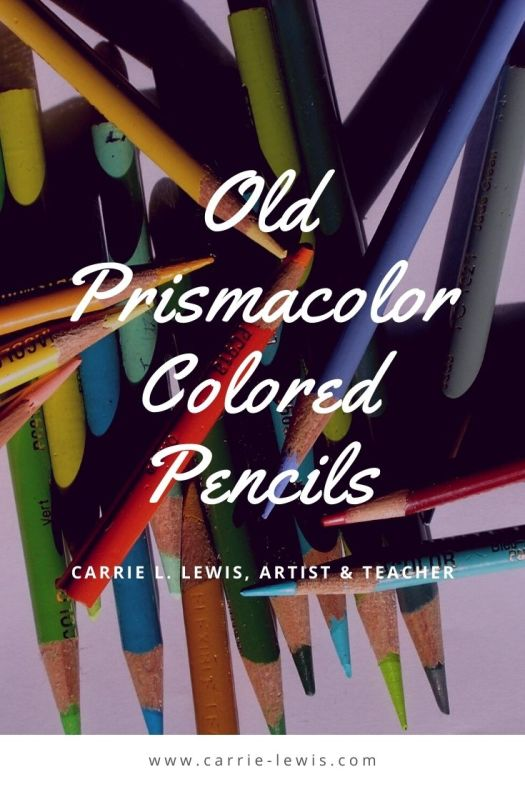 Old Prismacolor Colored Pencils