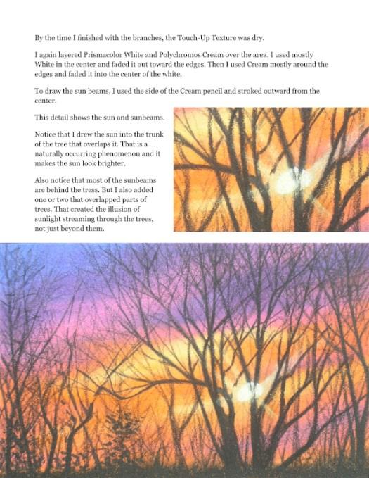Blazing Sunset Tutorial for Advanced Artists