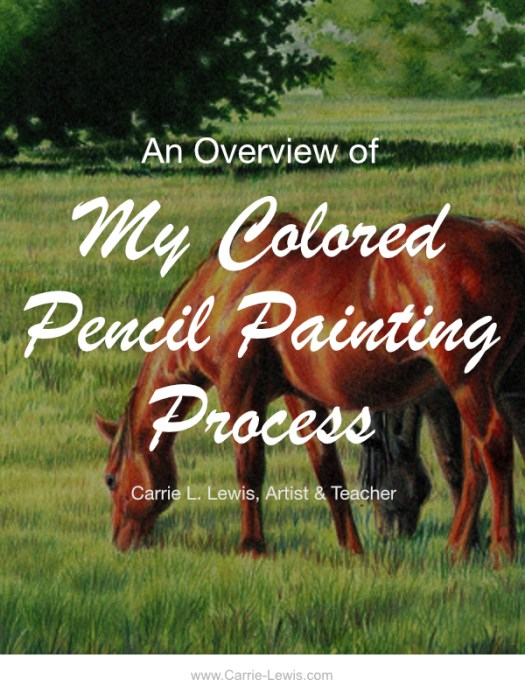 Colored Pencil Painting Process
